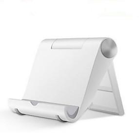 billige iPhone XS-Seng / Skrivebord Universal / Mobiltelefon / Tablet Monter stativholder Justerbar Stander Universal / Mobiltelefon / Tablet Plast Holder