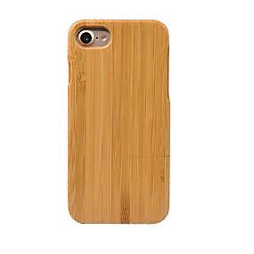 levne iPhone pouzdra-Carcasă Pro Apple iPhone 7 / iPhone 6 / Pouzdro iPhone 5 Prachuodolné Zadní kryt Jednobarevné Pevné Bambus pro iPhone 7 Plus / iPhone 7 / iPhone 6s Plus