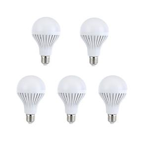 ieftine Becuri LED Glob-5pcs Bulb LED Glob 330-360 lm E26 / E27 A60(A19) 15 LED-uri de margele SMD 5630 Decorativ Alb Cald Alb Natural 220-240 V / 5 bc / RoHs