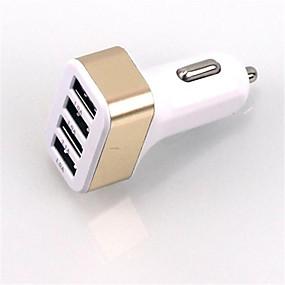billige Bilopladere-Bil Oplader USB oplader Unversel Multiporte 4 USB-porte 5.1 A DC 12V-24V for