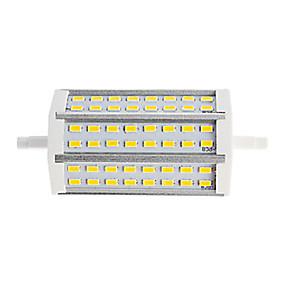 billige LED-lysstofrør-1pc 15 W Lysrør 1200 lm R7S T 48 LED Perler SMD 5730 Dual-Head Varm hvid Kold hvid 85-265 V / 1 stk. / RoHs