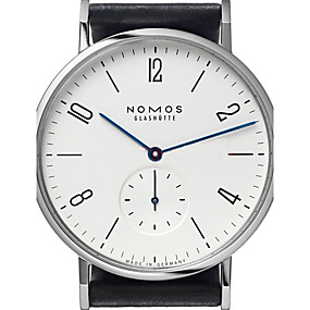 fd9999a53ae baratos Jóias  amp  Relógios-Homens Relógio de Moda Quartzo Quartzo Japonês  Couro Preta 30