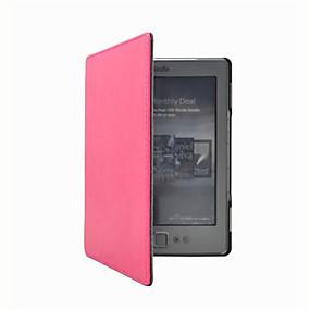 billige Kindle-tilbehør-taske til tænder 4 / amazon hele krops tasker hele krops tasker fast farve hard pu læder til tænder 4