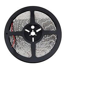 billige Hjem & Køkken-ZDM® 5 m Fleksible LED-lysstriber 300 lysdioder SMD 2835 Varm hvid / Kold hvid / Rød Chippable / Fest / Koblingsbar 12 V 1pc / Selvklæbende