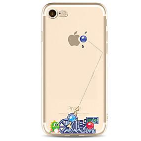 halpa iPhone 6s kotelot-CaseMe Etui Käyttötarkoitus Apple iPhone X / iPhone 8 / iPhone 7 Ultraohut / Kuvio Takakuori Punk Pehmeä TPU varten iPhone X / iPhone 8 Plus / iPhone 8