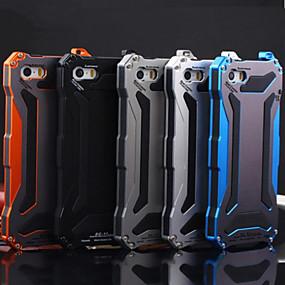 Недорогие Кейсы для iPhone 5S/SE-DE JI Кейс для Назначение Apple iPhone 7 / iPhone 7 Plus Защита от удара / Защита от пыли / Защита от влаги Чехол броня Твердый Металл для iPhone 7 Plus / iPhone 7 / iPhone 6s Plus
