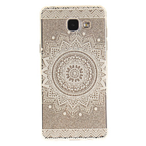 voordelige Galaxy A5(2016) Hoesjes / covers-hoesje Voor Samsung Galaxy A5(2016) / A3(2016) / A5 IMD / Transparant / Patroon Achterkant Mandala Zacht TPU