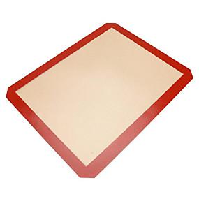 ieftine Bucătărie & Masă-1 buc Silicon Ecologic Măsurătoare Pâine Tort Coacere Mats & Liners Instrumente de coacere
