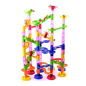 olcso Játékos játékok-Marble Run verseny építése Marble Track Sets Golyópálya STEAM Toy Újdonságok 105 pcs Gyermek Uniszex Fiú Lány Játékok Ajándék