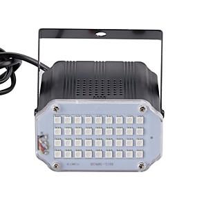 Недорогие Светодиодные театральные лампы-U'King 10 W LED PAR-прожектор Регулируется / Простая установка / Активация звуком Красный / Синий / Зеленый 110-240 V Светодиодные бусины / 1 шт. / RoHs / CE / FCC