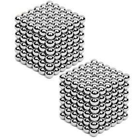 olcso Játékok & hobbi-2*216 pcs 3mm Mágneses játékok Építőkockák Super Strong ritkaföldfémmágnes Neodímium mágnes Rubik-kocka Mágikus labda Mágneses DIY Gyermek / Felnőttek Fiú Lány Játékok Ajándék