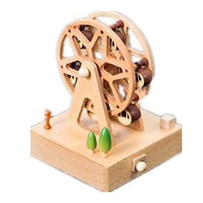 olcso Játékok & hobbi-Zenedoboz Négyzet Ünnepi tartozékok Fa Uniszex