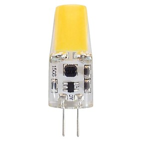 abordables Luces LED de Doble Pin-2 W Luces LED de Doble Pin 220-240 lm G4 T 1 Cuentas LED COB Decorativa Blanco Natural Blanco 12 V / 1 pieza / Cañas