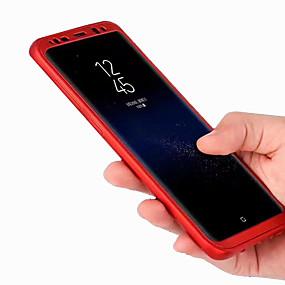 halpa Galaxy S -sarjan kotelot / kuoret-Etui Käyttötarkoitus Samsung Galaxy S8 Plus / S8 Himmeä Suojakuori Yhtenäinen Kova PC varten S8 Plus / S8