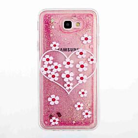 voordelige Galaxy J5 Hoesjes / covers-hoesje Voor Samsung Galaxy J7 Prime / J5 Prime Stromende vloeistof / Patroon Achterkant Bloem Zacht TPU voor J7 Prime / J7 (2016) / J5 Prime