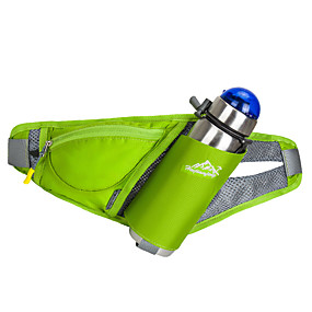 economico Accessori da viaggio-Marsupi per Maratona Borse per sport Portatile Marsupio da corsa Nylon Verde Per uomo Per donna