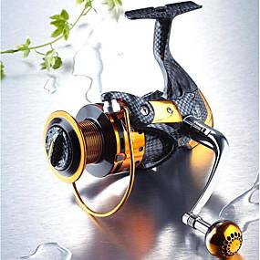 billige Fisketilbehør-Fishing Reel Bearing Spinne-hjul 5.1:1 Gear Forhold+13 Kulelager Hånd Orientering Byttbar Søfisking / Ferskvannsfiskere / Lokke Fiske - TT4000 / Generelt fisking / Trolling- & Båtfiskeri