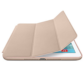 billige Tilbehør til iPad-Etui Til Apple Magnetisk / Auto Sove / Våkne Heldekkende etui Ensfarget Hard PU Leather til iPad Mini 5 / iPad New Air (2019) / iPad Air / iPad Pro 10.5 / iPad (2017)
