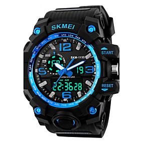 ieftine Ceasuri de Marcă-SKMEI Bărbați Ceas Sport Ceas Militar Ceas La Modă Ceas de Mână Ceas digital Japoneză Quartz LED Calendar Cronograf Rezistent la Apă Zone
