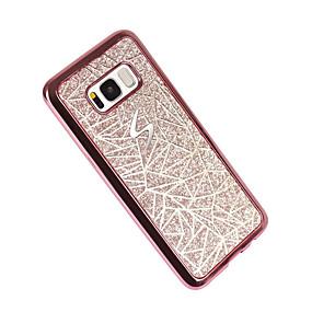 voordelige Galaxy S7 Hoesjes / covers-hoesje Voor Samsung Galaxy S8 Plus / S8 / S7 edge Beplating / Patroon Achterkant Geometrisch patroon Zacht TPU