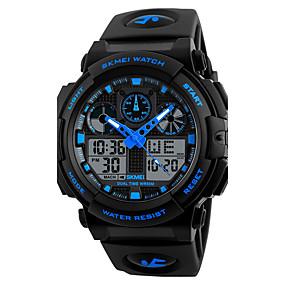 25cea162c abordables Relojes de Vestir-Hombre Reloj Deportivo Reloj Militar Reloj  elegante Cuarzo Digital Silicona Cuero