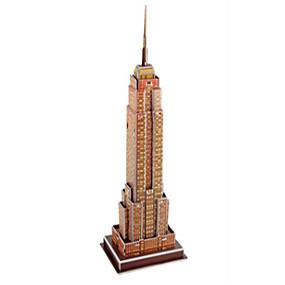 olcso Játékok & hobbi-3D építőjátékok Modeli i makete Színpadi Építészet Empire State Building DIY Klasszikus Klasszikus és időtálló Gyermek Felnőttek Játékok Ajándék