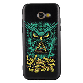voordelige Galaxy A5(2016) Hoesjes / covers-hoesje Voor Samsung Galaxy A5(2017) / A3(2017) Patroon Achterkant Uil Zacht TPU voor A3 (2017) / A5 (2017) / A5(2016)