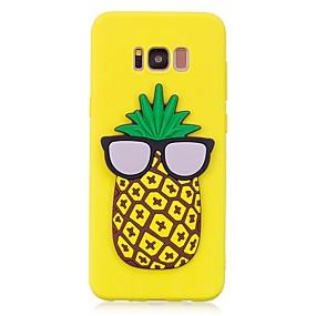 voordelige Galaxy S7 Edge Hoesjes / covers-hoesje Voor Samsung Galaxy S8 Plus / S8 / S7 edge Patroon / DHZ Achterkant 3D Cartoon / Fruit Zacht TPU