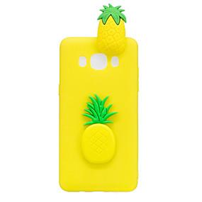 voordelige Galaxy J3(2017) Hoesjes / covers-hoesje Voor Samsung Galaxy J7 (2017) / J7 (2016) / J5 (2017) Patroon / DHZ Achterkant 3D Cartoon / Fruit Zacht TPU