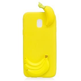 voordelige Galaxy J7(2017) Hoesjes / covers-hoesje Voor Samsung Galaxy J7 (2017) / J7 (2016) / J5 (2017) Patroon / DHZ Achterkant 3D Cartoon / Fruit Zacht TPU
