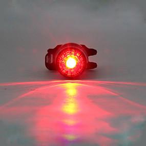 olcso Zseblámpák-LED Kerékpár világítás Kerékpár hátsó lámpa biztonsági világítás hátsó lámpák LED Hegyi biciklizés Kerékpározás Csillanás Többféle üzemmód Lítium 180 lm Beépített Li-akkumulátor táplálás Piros
