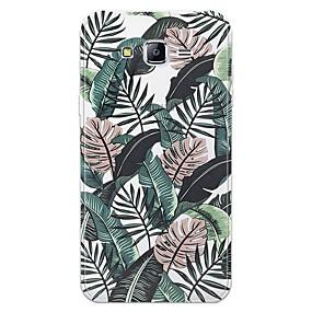 voordelige Galaxy J5 Hoesjes / covers-hoesje Voor Samsung Galaxy J7 (2017) / J7 (2016) / J7 Patroon Achterkant Landschap Zacht TPU