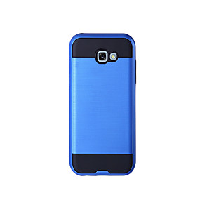 voordelige Galaxy A8 Hoesjes / covers-hoesje Voor Samsung Galaxy A3 (2017) / A5 (2017) / A7 (2017) Schokbestendig Volledig hoesje Effen Hard TPU