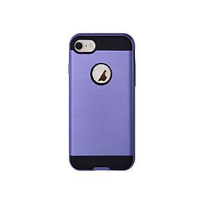 זול מחירים משוגעים, סופר סייל-מגן עבור Apple iPhone 8 / iPhone 8 Plus עמיד בזעזועים כיסוי מלא אחיד קשיח TPU ל iPhone 8 Plus / iPhone 8 / iPhone 7 Plus
