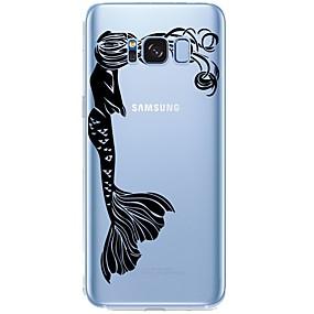 voordelige Galaxy S7 Edge Hoesjes / covers-hoesje Voor Samsung Galaxy Patroon Sexy dame / Cartoon Zacht