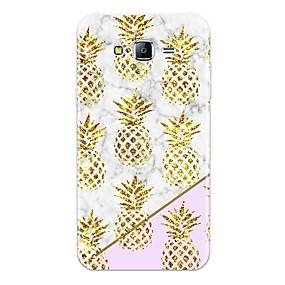 voordelige Galaxy J7 Hoesjes / covers-hoesje Voor Samsung Galaxy J7 (2017) / J7 (2016) / J7 Patroon Achterkant Fruit / Marmer Zacht TPU