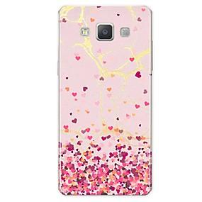 voordelige Galaxy A8 Hoesjes / covers-hoesje Voor Samsung Galaxy A5 (2017) / A7 (2017) / A7(2016) Patroon Achterkant Tegel / Hart / Marmer Zacht TPU