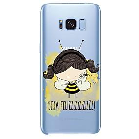 voordelige Galaxy S7 Edge Hoesjes / covers-hoesje Voor Samsung Galaxy Patroon Sexy dame / dier / Cartoon Zacht