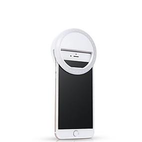 abordables Ornements pour mobiles-portable universel led flash remplir allumer selfie lampe lampe anneau de téléphone pour iphone xs max xr samsung s10 huawei xiaomi