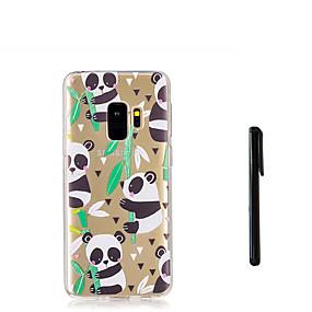 voordelige Galaxy S7 Edge Hoesjes / covers-hoesje Voor Samsung Galaxy S9 / S9 Plus / S8 Plus Doorzichtig Achterkant dier / Panda Zacht TPU