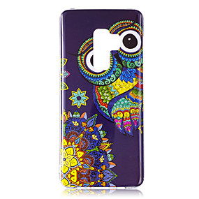voordelige Galaxy S7 Hoesjes / covers-hoesje Voor Samsung Galaxy S9 / S9 Plus / S8 Plus Glow in the dark / IMD / Patroon Achterkant Uil / Schijnen Zacht TPU