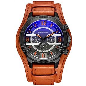 607343e5cde86 رخيصةأون ساعات الأطفال-رجالي ساعة عسكرية ياباني جلد اصطناعي أسود   أزرق    أحمر 30