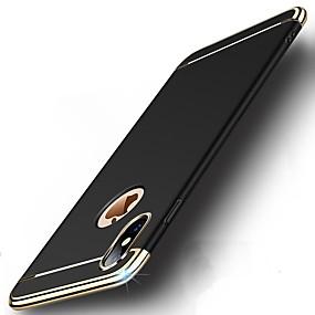 levne iPhone pouzdra-Carcasă Pro Apple iPhone X / iPhone 8 Nárazuvzdorné / Galvanizované / Ultra tenké Celý kryt Jednobarevné Pevné PC pro iPhone X / iPhone 8 Plus / iPhone 8