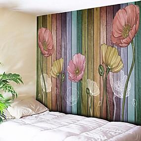 baratos Casa & Cozinha-Arquitetura Decoração de Parede Poliéster Vintage Arte de Parede, Tapetes de parede Decoração