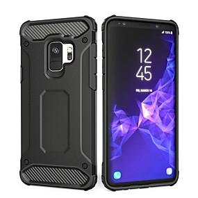 halpa Galaxy S -sarjan kotelot / kuoret-Etui Käyttötarkoitus Samsung Galaxy S9 Plus / S9 Iskunkestävä Takakuori Yhtenäinen Kova PC varten S9 / S9 Plus / S8 Plus