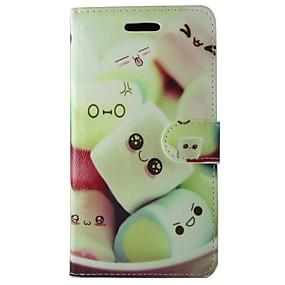 halpa Galaxy S -sarjan kotelot / kuoret-Etui Käyttötarkoitus Samsung Galaxy S7 Lomapkko / Korttikotelo / Tuella Suojakuori Ruoka Kova PU-nahka varten S7 / S6 edge / S6