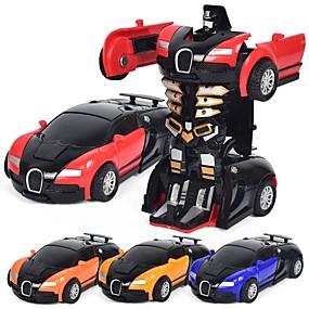 رخيصةأون ألعاب السيارات-لعبة سيارات سيارة / إنسان آلي التحويلية / كوول سبيكة معدنية الطفل هدية 1 pcs