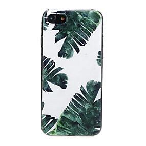 abordables Coques d'iPhone-Coque Pour Apple iPhone X / iPhone 7 Ultrafine / Motif / Adorable Coque Cœur / Paysage Flexible TPU pour iPhone X / iPhone 8 Plus / iPhone 8
