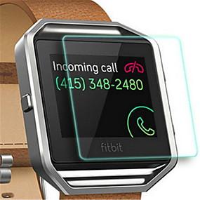 billige Skærmbeskyttelse til smarture-Skærmbeskytter Til Fitbit Blaze Hærdet Glas Eksplosionssikker / 9H hårdhed / High Definition (HD) 1 stk