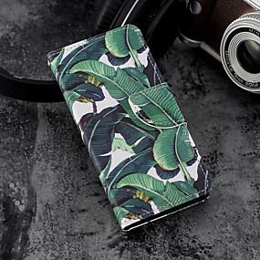 voordelige Galaxy S7 Hoesjes / covers-hoesje Voor Samsung Galaxy S9 / S9 Plus / S8 Plus Portemonnee / Kaarthouder / met standaard Volledig hoesje Boom Hard PU-nahka